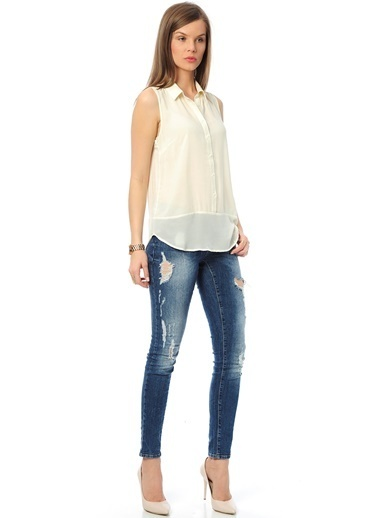 Vero Moda Gömlek Beyaz